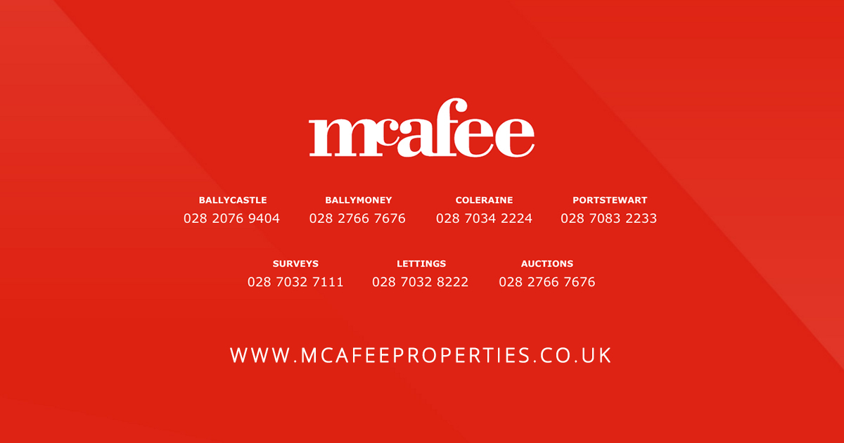 Mcafee Properties Sale Ballymoney