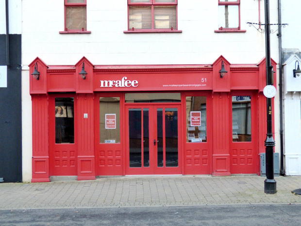 mcafee estate agents Ballymoney