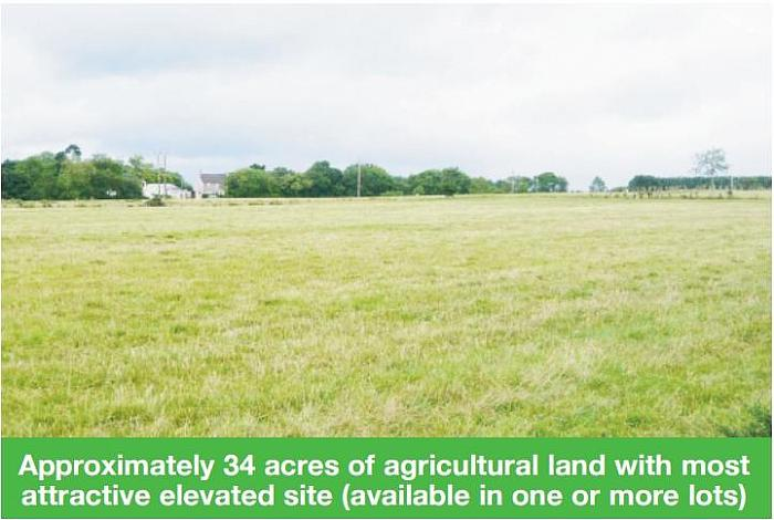Approx 34 Acres with site