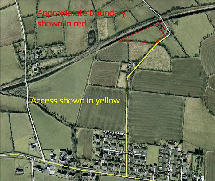 Site Approx. 170m North East of 74 Kilraughts Road, Ballymoney