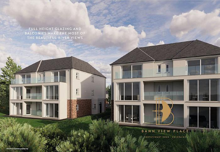 Apt 12 Bann View Place Apartments, Coleraine