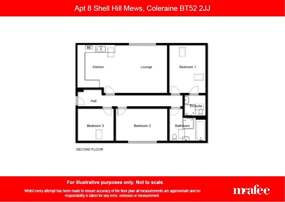 Apt 8 Shell Hill Mews